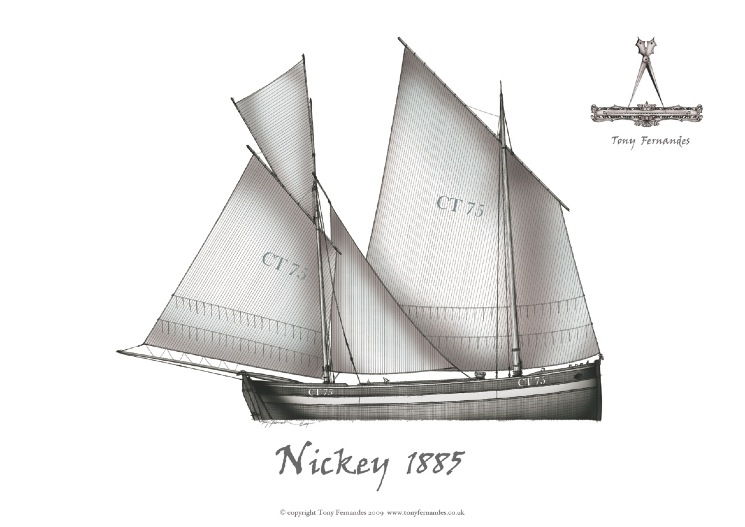 Manx Nickey, 1881, by Tony Fernandes